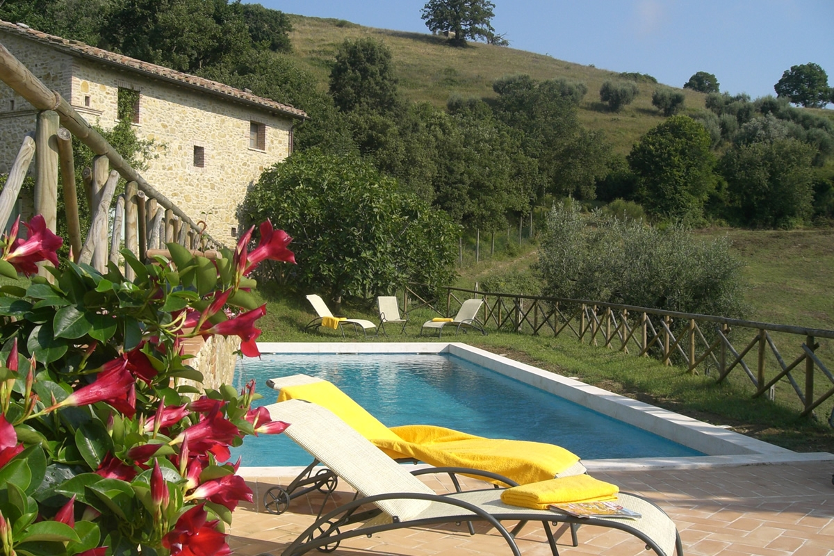 Agriturismo in Umbria con piscina