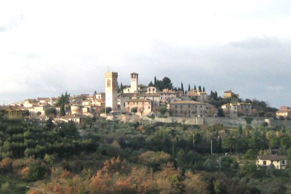 Corciano panoramica